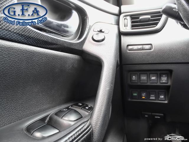 2015 Nissan Rogue SL AWD, LEATHER SEATS, PAN ROOF, 360° CAM, NAVI Photo18
