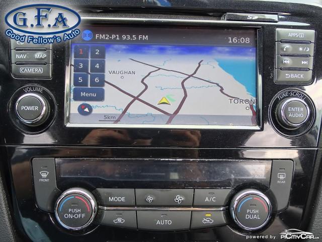 2015 Nissan Rogue SL AWD, LEATHER SEATS, PAN ROOF, 360° CAM, NAVI Photo20