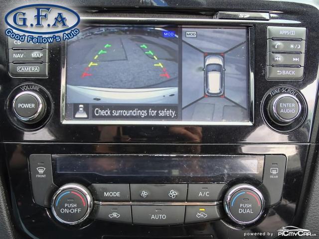 2015 Nissan Rogue SL AWD, LEATHER SEATS, PAN ROOF, 360° CAM, NAVI Photo21