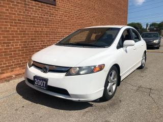 Used 2007 Honda Civic LX/ CERTIFIED WITH WARRANTY for sale in Oakville, ON
