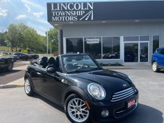 Used 2012 MINI Cooper Convertible POWER SOFT TOP! for sale in Beamsville, ON