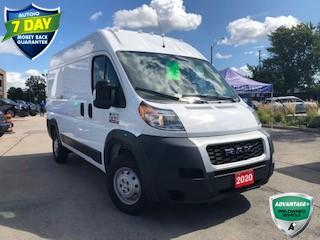 Used 2020 RAM 1500 ProMaster HIGH ROOF V6 CERTIFIED for sale in Hamilton, ON