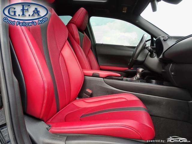 2019 Lexus UX UX250H, SUNROOF, BLACK ON RED LEATHER SEATS,HYBRID Photo11