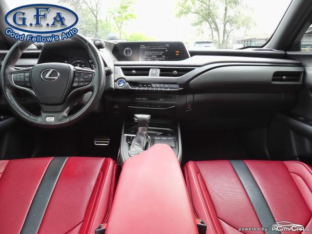 2019 Lexus UX UX250H, SUNROOF, BLACK ON RED LEATHER SEATS,HYBRID Photo13