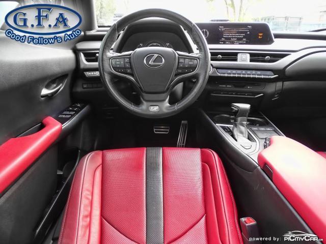 2019 Lexus UX UX250H, SUNROOF, BLACK ON RED LEATHER SEATS,HYBRID Photo14