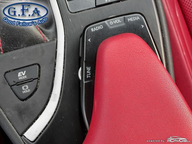 2019 Lexus UX UX250H, SUNROOF, BLACK ON RED LEATHER SEATS,HYBRID Photo18