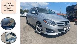 Used 2016 Mercedes-Benz B-Class B 250 Sports Tourer 4MATIC NAVIGATION NO ACCIDENT for sale in Oakville, ON