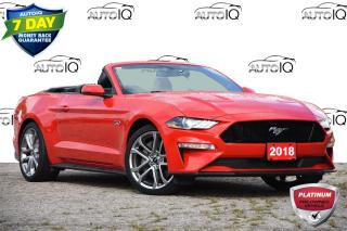Used 2018 Ford Mustang GT Premium 401A | CONVERTIBLE | AUTO | NAVIGATION for sale in Kitchener, ON