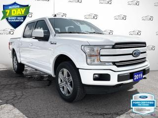 Used 2019 Ford F-150 Lariat 4x4/Navi/Leather/20 Wheels for sale in St Thomas, ON
