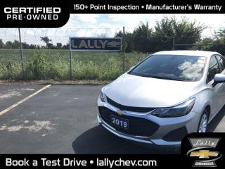 Used 2019 Chevrolet Cruze LT TURBO**LOCAL TRADE**ONE OWNER**HEATED SEATS**RE for sale in Tilbury, ON