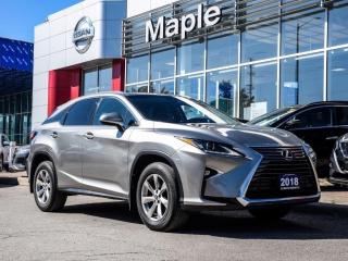 Used 2018 Lexus RX 350 RX350 AWD Bluetooth Rear Camera Lane Departure for sale in Maple, ON