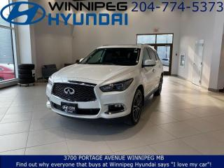 Used 2018 Infiniti QX60 Heated, Leather seats, Power liftgate, Rearview monitor for sale in Winnipeg, MB