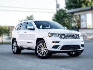 Used 2017 Jeep Grand Cherokee SUMMIT |NAV|PANOROOF|ACC|B.SPOT|R.STARTER|HARMAN KARDON for sale in North York, ON
