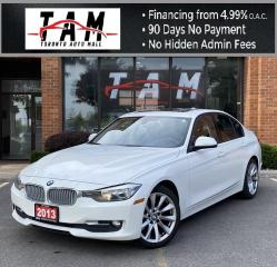 Used 2013 BMW 3 Series 320i Sunroof Leather Heated Steering Wheel Clean Carfax No Accident for sale in North York, ON