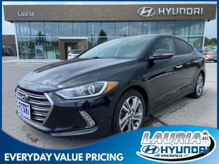 Used 2017 Hyundai Elantra Limited - LOADED for sale in Port Hope, ON