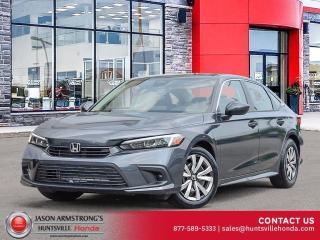 New 2022 Honda Civic LX for sale in Huntsville, ON