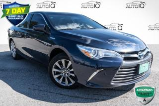 Used 2015 Toyota Camry HYBRID XLE HYBRID!! BLIND SPOT SENSORS!!! POWERED MOONROOF!!! for sale in Barrie, ON