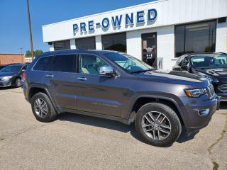 Used 2017 Jeep Grand Cherokee Limited for sale in Brantford, ON