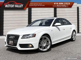 Used 2011 Audi A4 Quattro 2.0T S-LINE Anniversary Edition! for sale in Scarborough, ON