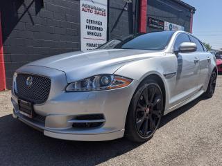 Used 2015 Jaguar XJ Premium Luxury, AWD, DUAL SUNROOF, BLIND SPOT for sale in Burlington, ON