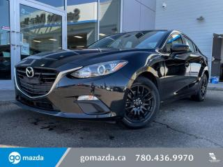 Used 2016 Mazda MAZDA3 GX - MANUAL, POWER WINDOWS, LOW KMS, GREAT VALUE for sale in Edmonton, AB