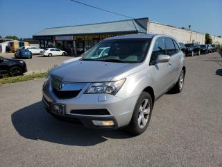 Used 2011 Acura MDX SH-AWD 7 PASS. TECH PKG. w/DVD/NAVI/B.CAM & MORE! for sale in North York, ON