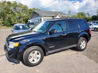 Used 2008 Ford Escape Hybrid Leather Navi Certified for sale in Peterborough, ON