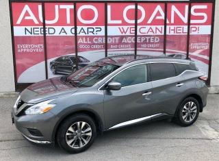 Used 2017 Nissan Murano S-ALL CREDIT ACCEPTED for sale in Toronto, ON