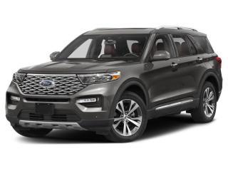 New 2021 Ford Explorer Platinum 601A - 6-PASSENGER - FINANCE MANAGER DEMO for sale in Surrey, BC