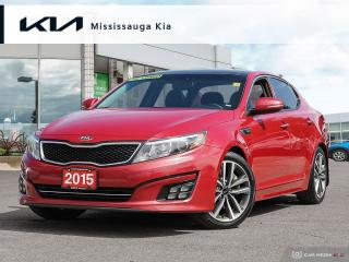 Used 2015 Kia Optima SX Turbo TURBO!, NAV, LEATHER, ROOF, 1 OWNER!! for sale in Mississauga, ON