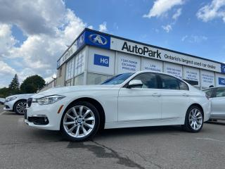 Used 2017 BMW 330 i xDrive NAV   HEATED SEATS   SUNROOF   LEATHER SEATS   for sale in Brampton, ON