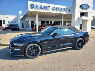 New 2021 Ford Mustang GT Premium for sale in Brantford, ON