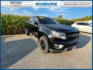 Used 2019 Chevrolet Colorado Z71 One Owner | Remote Vehicle Start | Wireless Charging | OnStar for sale in Wallaceburg, ON