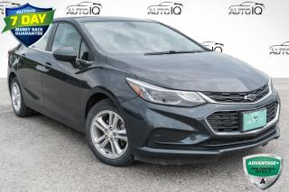 Used 2018 Chevrolet Cruze LT Auto REMOTE KEYLESS ENTRY!!! TURBO!!! CLEAN CARFAX!!! for sale in Barrie, ON