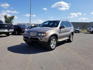 Used 2005 BMW X5 4.4i | $0 DOWN - EVERYONE APPROVED! for sale in Calgary, AB