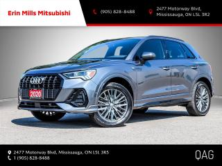 Used 2020 Audi Q3 45 Technik 45 2.0T Technik quattro NO ACCIDENTS ONE OWNER LOADED CARPLAY for sale in Mississauga, ON