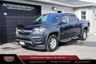 Used 2017 Chevrolet Colorado WT TONNEAU COVER - SIDE STEP - BACK UP CAM for sale in Kingston, ON