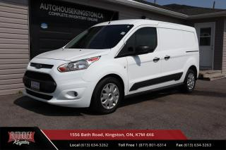 Used 2017 Ford Transit Connect XLT CLEAN CARFAX - DUAL SLIDING DOORS - AFTERMARKET LCD SCREEN for sale in Kingston, ON