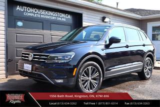Used 2018 Volkswagen Tiguan Highline ALL AROUND CAM - NAVIGATION - REMOTE START for sale in Kingston, ON