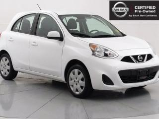 Used 2019 Nissan Micra SV Bluetooth, Backup camera, Cruise control for sale in Winnipeg, MB