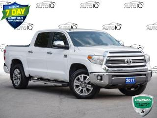 Used 2017 Toyota Tundra Platinum 5.7L V8 Tundra Platinum 1794   |   Leather  |  Navigation  |  Sunroof for sale in St Catharines, ON