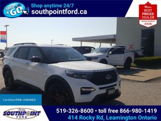 Used 2021 Ford Explorer ST|NAV|MOONROOF|HTD & COOLED SEATS|HTD 2ND ROW|ADAPTIVE CRUISE/]REMOTE START for sale in Leamington, ON