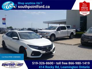Used 2019 Honda Civic Sport Touring SPORT TOURING|LEATHER|NAV|HTD SEATS|SUNROOF|REMOTE START for sale in Leamington, ON