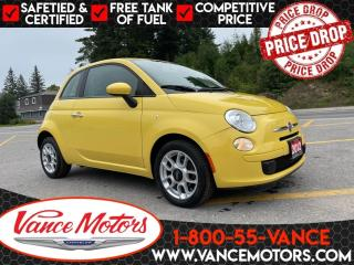 Used 2012 Fiat 500 Pop...MANUAL*BLUETOOTH*REMOTE ENTRY! for sale in Bancroft, ON