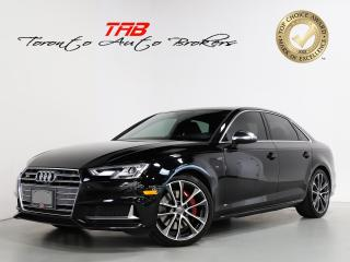 Used 2018 Audi S4 3.0T TECHNIK I EXT. WARRANTY I CLEAN CARFAX for sale in Vaughan, ON
