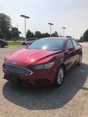 Used 2017 Ford Fusion SE for sale in Petrolia, ON