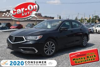 Used 2018 Acura TLX NEW ARRIVAL   SUNROOF   REAR CAM for sale in Ottawa, ON