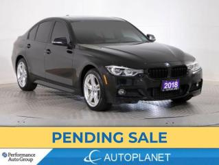 Used 2018 BMW 330i xDrive , M-Sport Edition II, Navi, Sunroof, Red Interior! for sale in Brampton, ON
