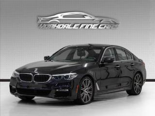 Used 2017 BMW 5 Series 540i xDrive AWD. M Sport. Heads Up Display, Navi, Loaded! for sale in Concord, ON