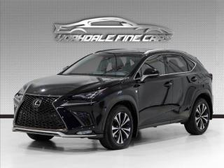 Used 2018 Lexus NX 300. F Sport Pkg, Navi, Blk On Red, Blind Spot Assist. for sale in Concord, ON